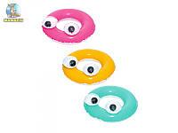 Круг для плавания Глазастики, 61 см