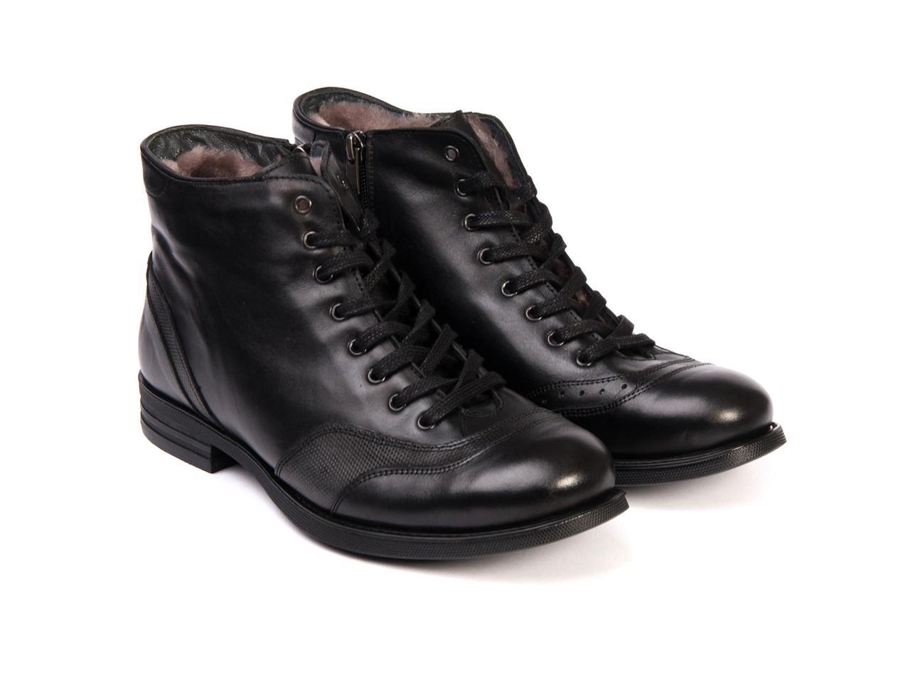 Ботинки Etor 8093-12808 черные