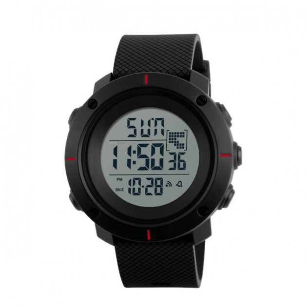 Спортивные часы Skmei 1213 BK-Red Big Size Box