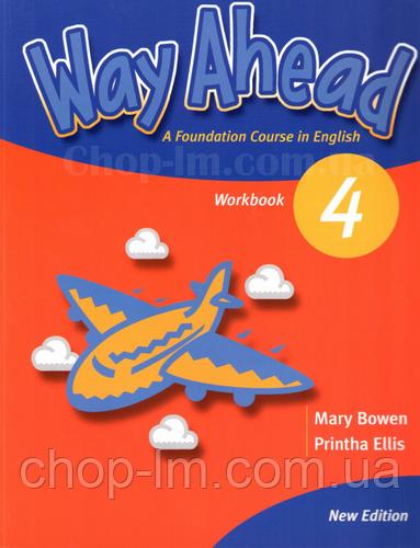 New Way Ahead 4 Workbook (рабочая тетрадь по английскому языку, уровень 4-й)