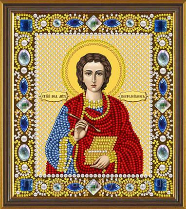 Набор для вышивания бисером икона Святой Пантелеймон Целитель, фото 2