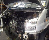 Мотор (Двигатель) Ford Transit 2.4 TDCI JXFA JXFC 115л.с 2008r