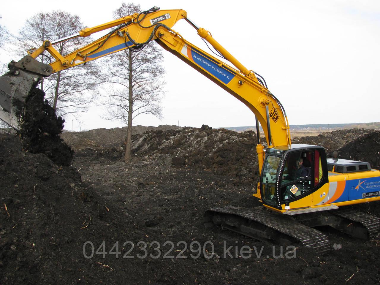 Родючий чорнозем грунт земля - Продаж доставка Київ Київська область