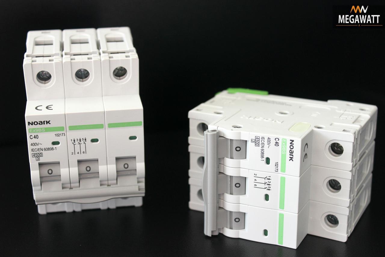 Автомат 3/40A Ex9BS 3P C40 4.5 kA NOARK В наявності