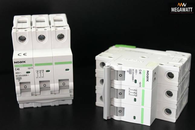 Автомат 3/40A Ex9BS 3P C40 4.5 kA NOARK В наявності, фото 2