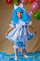Шикарный карнавальный костюм Мальвина, фото 1