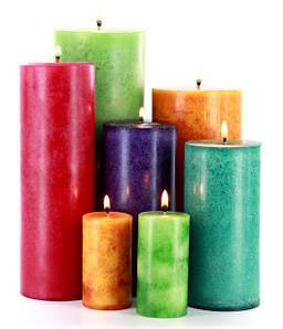 Материалы для свечей ручной работы