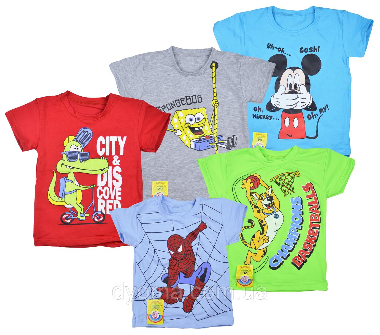 """Детская футболка """"Мышка"""" для мальчиков"""