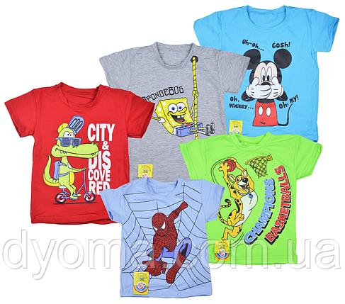 """Детская футболка """"Мышка"""" для мальчиков, фото 2"""