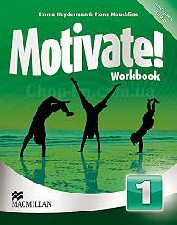 Motivate! Level 1 Workbook + Audio CDs (рабочая тетрадь по английскому языку с диском, уровень 1-й)