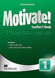 Motivate! Level 1 Teacher's Book + Audio CDs (книга для учителя с диском и тестами, уровень 1-й)