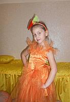 Костюм морковки,  гламурной морковки, шикарная морковка прокат киев. Костюм морковки прокат, фото 1