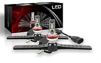 Светодиодные автолампы F1 LED, H11, 9600Lm, 52W, 9-32V, CSP (Корея)