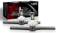 Светодиодные автолампы F1 LED, H4, 9600Lm, 72W, 9-32V, CSP (Корея)