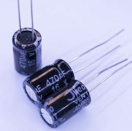 Конденсатор электролитический 16V 470uF (105°C)