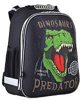 Рюкзак школьный жестко-каркасный для мальчика  H-12 Dinosaurs, 38*29*15, YES