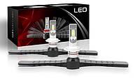 Светодиодные автолампы F1 LED, H7, 9600Lm, 52W, 9-32V, CSP (Корея)