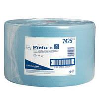 WYPALL* L40 Протирочные салфетки - Большой рулон / Синий/ Голубой, 750 листов, 23,5х38,0 см