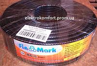 Телевизионный кабель Fin Mark RG6 (Black)