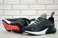 Кроссовки мужские Nike Air Max 270 код товара KD-11513. Серые