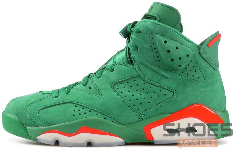 """35792977d49c Баскетбольные Кроссовки Nike Air Jordan 6 NRG """"Gatorade"""" — в Категории"""