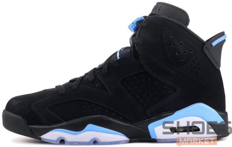 """Баскетбольные Кроссовки Nike Air Jordan 6 """"UNC"""" — в Категории"""