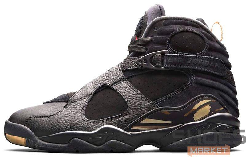 "113f87655866 Баскетбольные кроссовки Nike Air Jordan 8 ""OVO"" Black Metallic Gold-Varsity  Red"