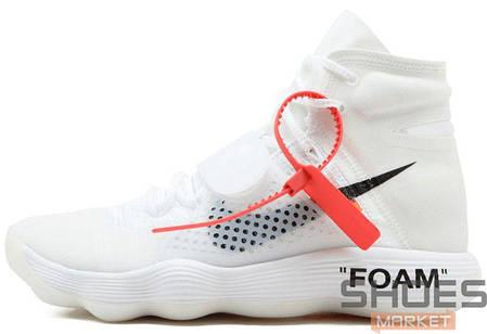 5b10684b Баскетбольные кроссовки Nike Nike REACT Hyperdunk 2017 X Off-White, фото 2