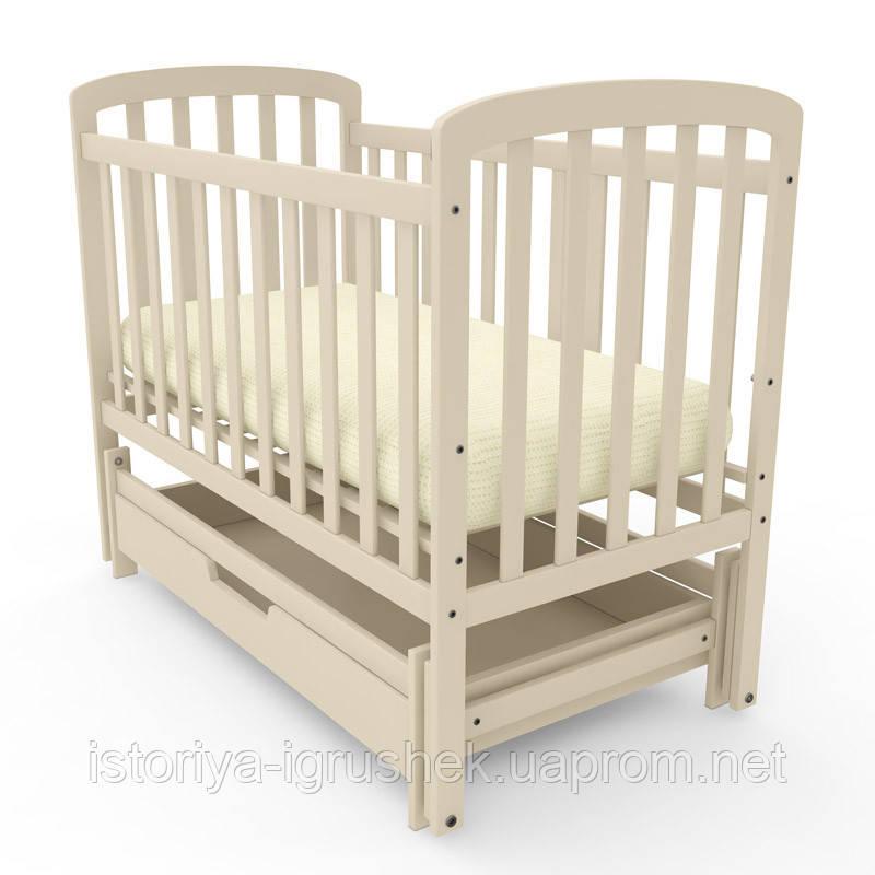 Кроватка детская Teddy с бука Woodman!!! (цвета и комплектация в ассор
