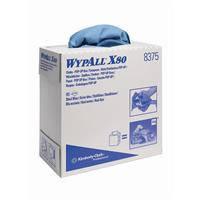 WYPALL* X80 Протирочный материал - Голубой/ синий, 80 листов, 23,0х42,5 см