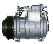 Компрессор кондиционера Subaru Forester 02-, Legasy 2.0-2.5 98-/PV4/d125/L40 - Новый, Лицензия, фото 1