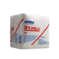 WYPALL* X80 Протирочный материал - Сложенные в 1/4 / Белый, 50 листов, 30,5х32,0 см