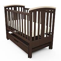 Кроватка детская Mia с цельного дерева бук Woodman!!!