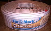 Телевизионный кабель Fin Mark F660BV (White)
