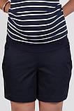 Шорты для беременных SAFO темно-синие, фото 3