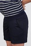 Шорты для беременных SAFO темно-синие, фото 4
