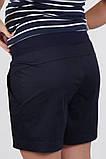 Шорты для беременных SAFO темно-синие, фото 5