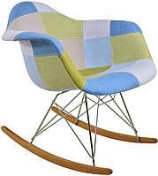 Кресло для дома салонов красоты терас RETRO DESIGN DAW PATCHWORK