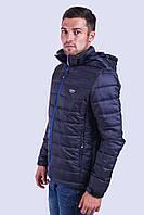 Куртка ветровка мужская синяя Avecs AV-02# Dark blue Размеры L
