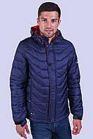 Куртка чоловіча вітровка синя Avecs AV-03# Blue Розміри M/46, фото 1