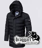Куртка зимняя мужская на молнии Braggart 1572 черная