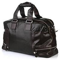 Дорожня сумка Bradford A66239 багажна спортивна два відділу штучна шкіра 54 × 31 × 19 см Коричневий, фото 1