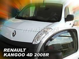 Дефлекторы окон (ветровики)  Renault Kangoo 2008-> 2шт (Heko)