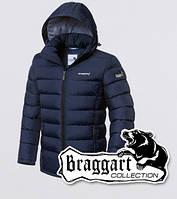 Мужская зимняя куртка на тинсулейте Braggart 1995 темно-синяя