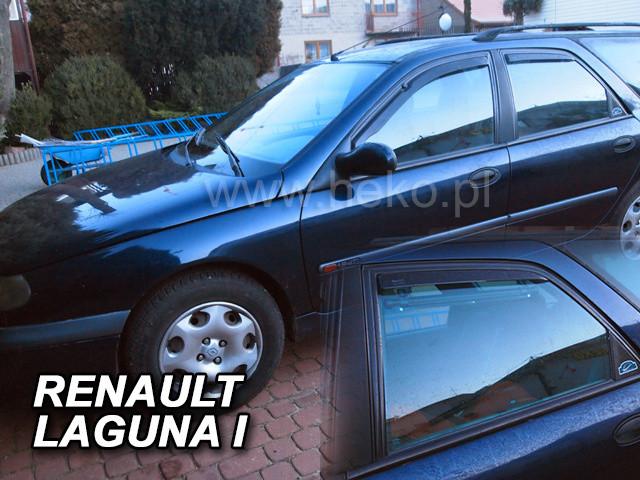 Дефлекторы окон (ветровики)  Renault Laguna 1 1993-2001 4шт (Heko)