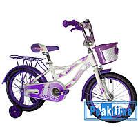 """Детский велосипед для девочек Crosser Kiddy 16"""" WD-3"""