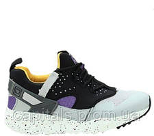 "Мужские кроссовки Nike Air Huarache Utility ""Grey/Yellow"""