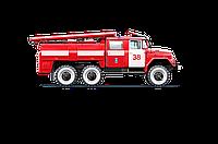 Гидравлика  на  пожарные машины с пластиковым баком