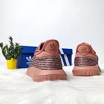 Женские кроссовки Adidas tubular pink gold, фото 2
