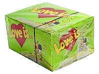 "Блок жвачек ""Love is""  яблоко - лимон"